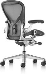 Herman Miller Aeron Remastered Chair Polished - Size C