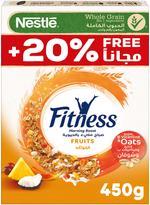 Nestle Fitness Fruits Breakfast Cereal 450g Promo Pack