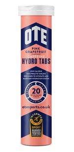 OTE Sports Hydro Tabs - Pink Grapefruit (Caffeine)