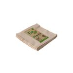 Fun® Green Track Unbleached 2-ply Eco-Napkins 33x33cm Pack of 50 X 5