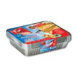 Fun® Indispensable Aluminium Containers with Lids 1200CC - Pack of 10 X 5