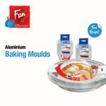 Fun® Indispensable Disposable Aluminium Baking Mould - 130 cc - Pack of 25 X 10