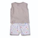 Smart Baby Baby Boys 2 Piece Set,Light Beige-BIGCB216AILB