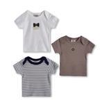 Wonderchild Baby Boys 3-Piece T-shirt ,Multicolor-WCG1719809