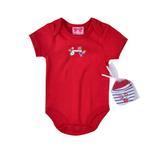 Mini Moi Baby Unisex 5 Pieces Combo Set, Red-JCGQ17017