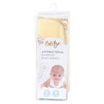 Bebitza Antibacterial Bamboo Baby Wraps,Yellow-MMGLB0626