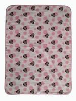 Disney Minnie Mouse Blanket ,Pink,TCGLTRHA1136