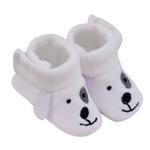 Smart Baby Baby Boy Booties ,White-TIGSS2076W