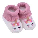 Smart Baby Baby Girl Booties ,Dark Pink-TIGSS2035002DP