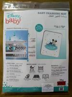 Disney Mickey Mouse Baby Changing Mat,White/Sea Green,TCGLTRHA4888