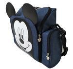 Disney Mickey Booster Seat Mum Diaper Bag,Navy,TCGLTRHA4995