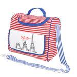 Enfant Mom Diaper Bag , Red/Navy - KOG679A