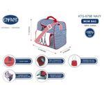Enfant Mom Diaper Bag , Navy/Red - KOG679B