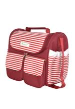 Palm&Pond Moms Diaper Bag , Maroon - KOG686