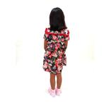 Flower Girl Girls Dress With Hair Band,Navy-KOG644B
