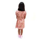 Flower Girl Girls Dress With Hair Band,Cream-KOG650B