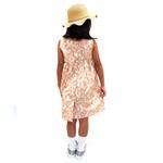 Flower Girl Girls Dress ,Light Brown-KOG651A