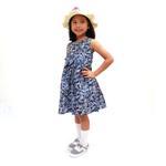Flower Girl Girls Dress,Navy-KOG651C