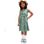 Flower Girl Girls Dress,Olive-KOG651E