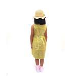 Flower Girl Girls Dress,Yellow-KOG651G