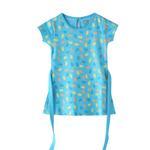 Flower Girl Girls Dress,Light Blue,SIMGS20GFR007