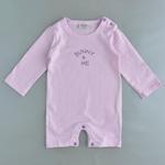 Wonderchild Baby Girls 5 pcs Gift Set, Light Purple /White-WCGS205098