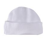Smart Baby Organic Cotton Unisex Beanie Hat , White - TIGBHOCW