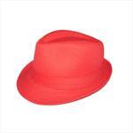 Genius Girls Fedora Hat,Red