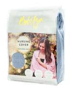 Bebitza Textured knit Nursing Cover,Blue-MMGL5021
