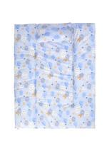 Palm&Pond Baby Nursing Mattress , Sky Blue - KOG695B