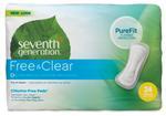 Seventh Generation Free & Clear Regular Maxi Pads-MMGL45000