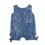 Wonderchild Baby Girls Romper ,Denim Blue-WCG1719855