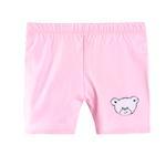 Smart Baby Baby Girls Plain Shorts, Pink-SIMG48001HBS