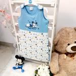 Disney Mickey Mouse Baby Sleeping Bag,White/Blue,TCGLTRHA4484