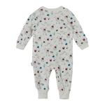 Chiquitos Baby Boys Open Feet Sleepwear , White - BAGCB202