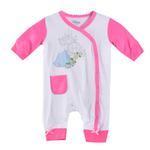 Disney Baby Cinderella Baby Girls Sleepsuit, White/Pink-NCGDBIBCP14B