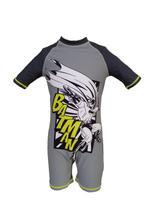 Batman Boy's Swimwear Swimsuit, Grey,HWGLSWBM302