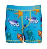 Emoji Boy's Swimwear Trunks, Aqua -HWGLEMJSW3