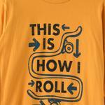 Nexgen Juniors Boys T-shirt , Mustard - HDGLW20B2094
