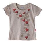 Genius Girls T-shirt,Fawn Melange,SIMGS20GEF017