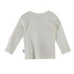 Chiquitos Baby Boys Full Sleeves T-shirt , White - BAGCB101