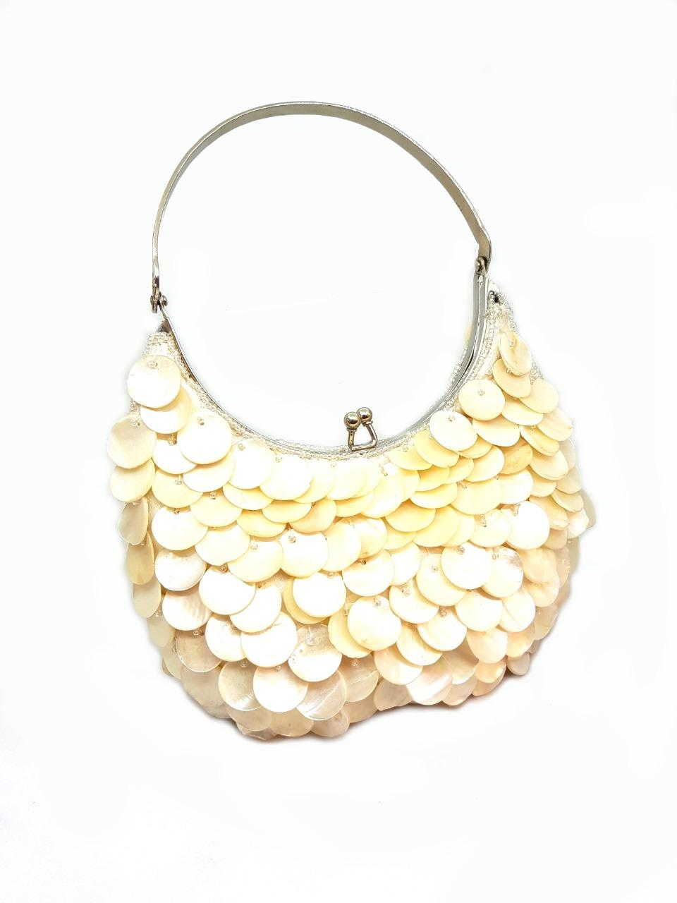 Shell Pearl Forearem Candy Clutch
