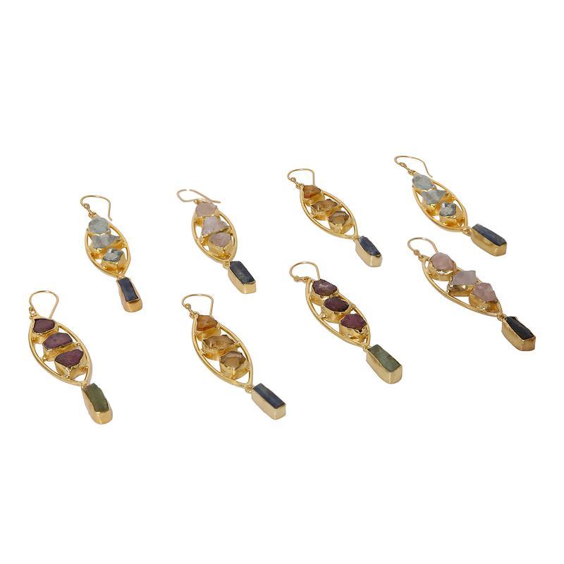 Fishtail earing