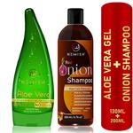 Newish Combo Pack for gift (Aloe Vera+Onion Shampoo)