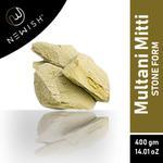 Newish Organic Multani Mitti Earth Stone(400gm)