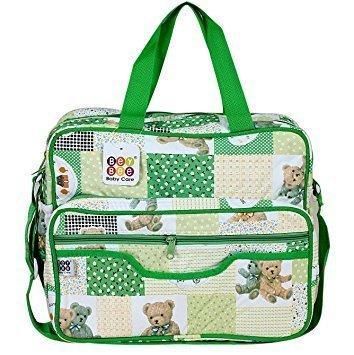 BeyBee - Mama's Bag {Diaper Bag} - 15 Ltrs (Dark Green)