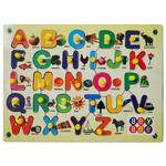 BeyBee Wood Educational Toys (Upper Alphabets Learning Kit)