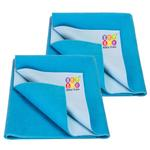 BeyBee Dry Sheet for Adults and Elderly Patients (Firoza, Each 100 X 140 cm) -Combo Pack of 2