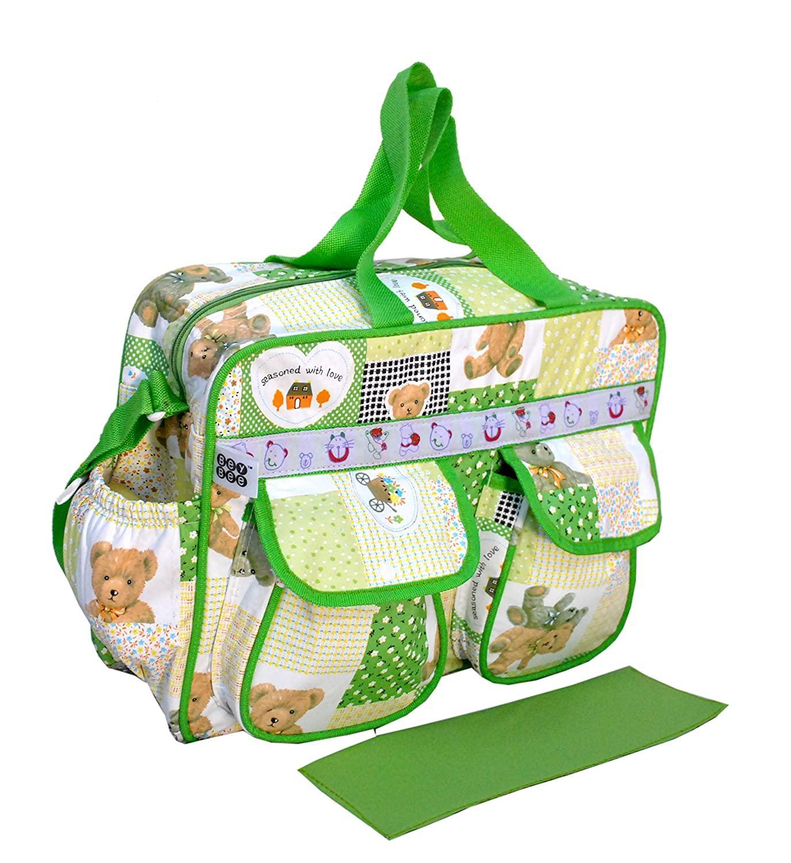 BeyBee Mama's Bag {Diaper Bag} (Dark Green, One Size