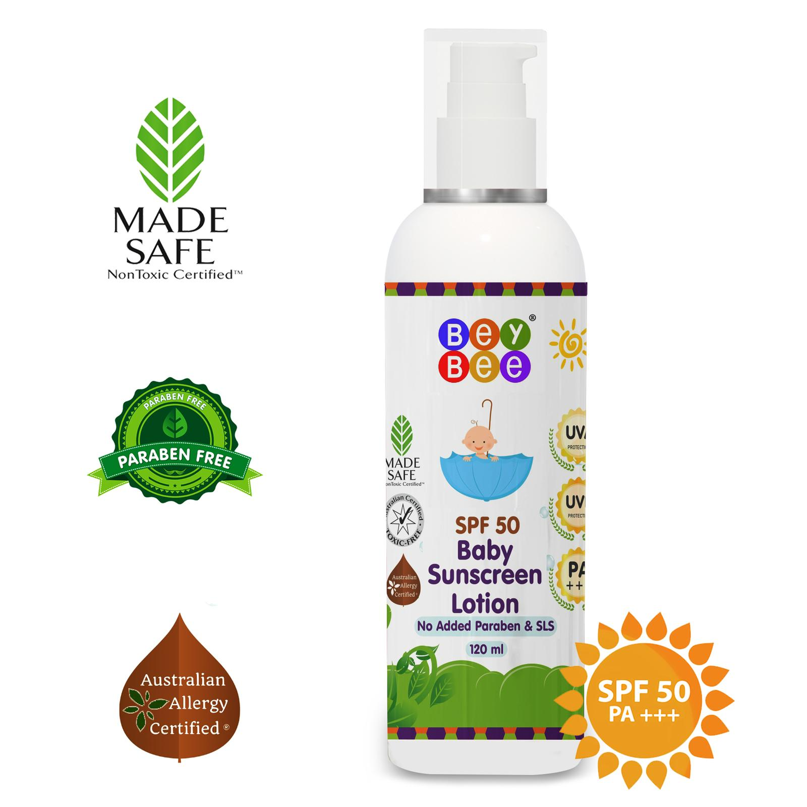 BeyBee Natural Baby Lotion for Kids Summer Newborn Babies 200ml